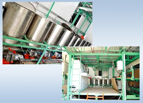 XLF-2400 Full Automatic Horizontal Continuous Foaming Production Line