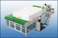 WB-4AAutomatic Mattress Tape Edge Machine